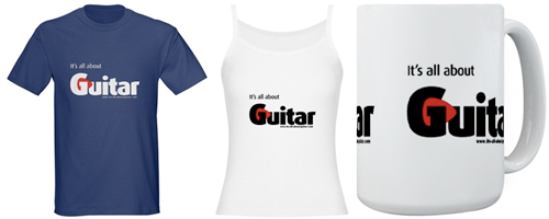 guitar t-shirts and gifts